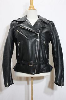 Vintage Hein Gericke Harley Davidson Leather Jacket 40