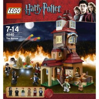 Lego Harry Potter 568 Pieces The Burrow Brand New SEALED Box 4840
