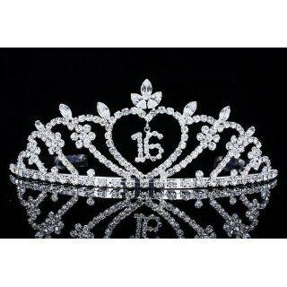 Pageant Sweet 16 Birthday Party Rhinestones Crystal Tiara