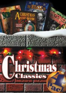Christmas Classics 4 Pack DVD 2006 4 Disc Set Brand New Box Set Ready
