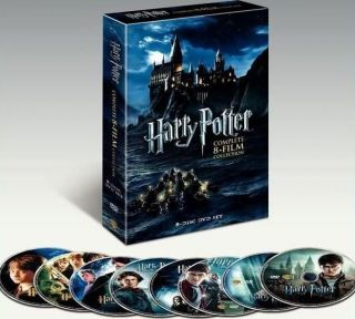 HARRY POTTER The COMPLETE 8 Film Box Set WIDESCREEN DVD REGION 1 USA