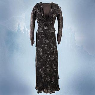 Harry Potter Bellatrix Costume Replica Dress New