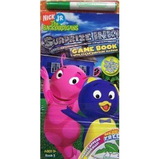 Nick Jr The Backyardigans Surprise Ink Game Book with Clear Surprise