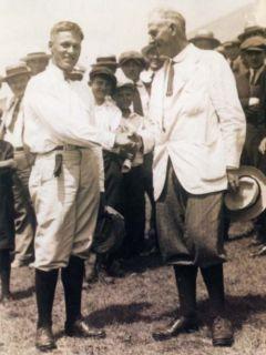 Bobby Jones Harry Vardon Photo Champion US Open 1923 Masters PGA Tour