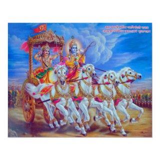 Mahabharat   Lord Krishna & Arjun Posters