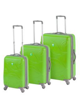 Heys Green Eco Leaves Three Piece Luggage Set