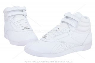 Hi Classic J92632 White Leather Sneakers New Shoes Women