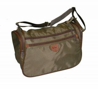 Hartmann Intensity 15 Denier Nylon Belting Leather Carry on Bag Great
