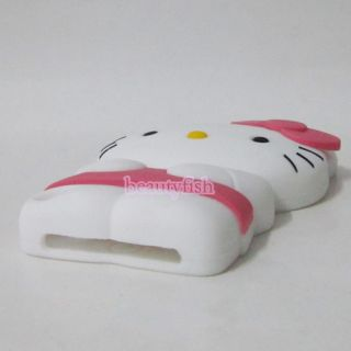Cute 3D Hello Kitty Silicone Case for Apple iPod Touch 5 5th Gen T5KT