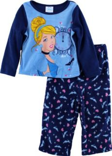 Disney Princess Cinderella Navy Toddler Girls Fleece