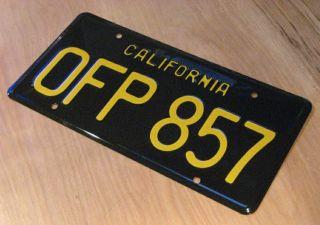 Herbie The Love Bug Metal Stamped Prop License Plate