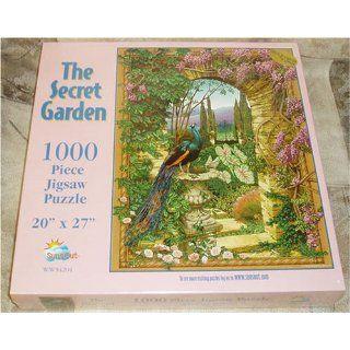 The Secret Garden 1000 Piece Jigsaw Puzzle 20 x 27 Toys & Games