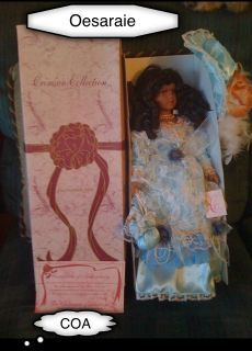 The Crimson Victorian Collection Doll Oesaraie