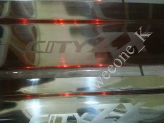 Door Sill Honda City ZX Stainless Steel Scuff Plate