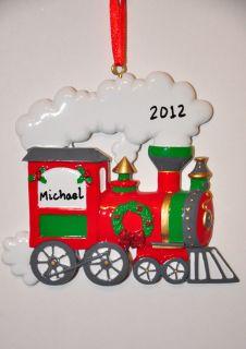 Christmas Ornaments, Train, Railroad, Railway, Subway, Free