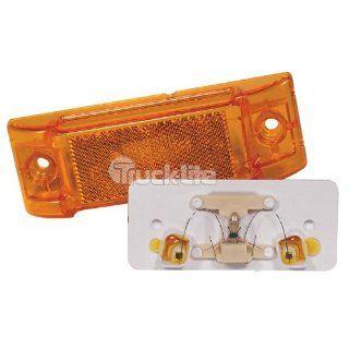 Truck Lite Super 21 Rectangular Sealed Marker Light Reflective Yellow