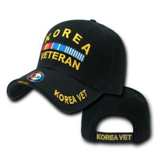 Korea Korean War Veteran US Military Cap Caps Hat Hats