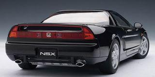 Honda Acura NSX 1990 Berlina Black Diecast 1 18 Autoart 73273