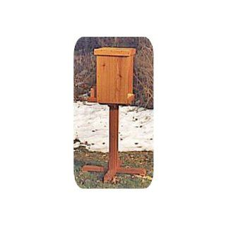 Deer Feeder Plan (Woodworking Project Paper Plan)