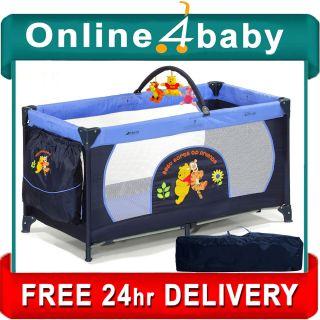 Hauck Disney Winne Pooh Best Friends Dream N Play Portable Travel Cot