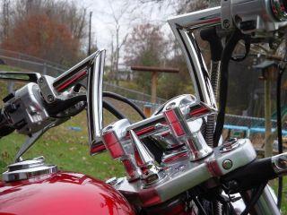 Honda Shadow Chrome Steering Stem Spike VLX600 VT600C VT600 VLX Yoke