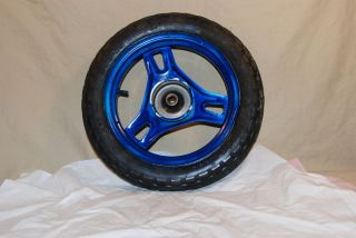 1984 Honda Spree Motorcycle Scooter Front Wheel Tire