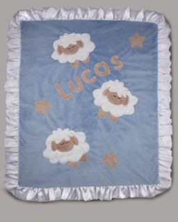 Boogie Baby Personalized Train Blanket