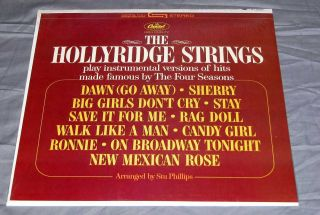 The Hollyridge Strings Play Hits Made Famous Four Seasons SEALED