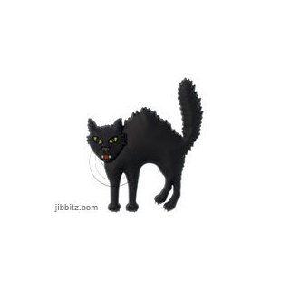 Black Scary Cat Jibbitz Halloween Witch Magic Everything