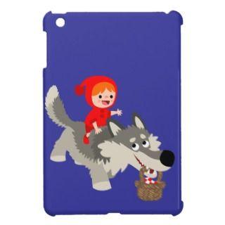 Little Red Riding Hood & Wolf iPad Mini Case Savvy