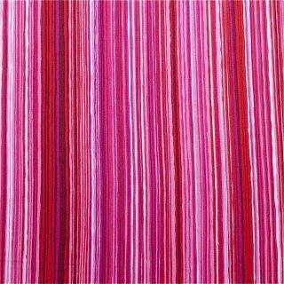 Alexander Henry Cotton Fabric Bright Pink Stripe FQs