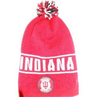 Indiana Hoosiers Long Style Adidas Knit Beanie Sports