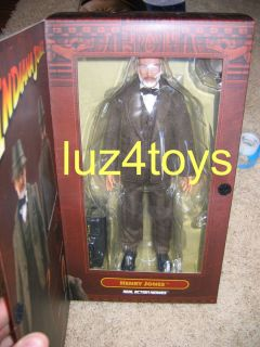 Sideshow Henry Jones 12 inch Figure 1 6 Scale Indiana Jones