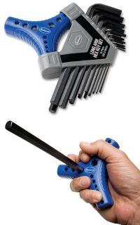 Eastwood 18 Piece Metric and SAE Long Arm Hex Key Wrench Set