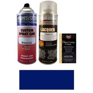 12.5 Oz. Dark Blue Spray Can Paint Kit for 1985 Volvo DL (204