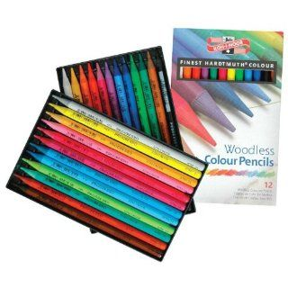 Koh I Noor Woodless Colored Pencils   Set of 24 Patio, Lawn & Garden