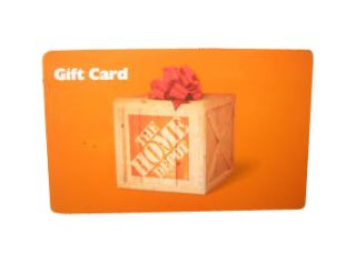 Home Depot Gift Card $300 value. Your cost $275.00 Free Signature