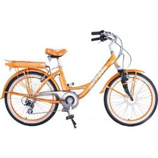 GREENLINE 24 Electric Beach Cruiser Electric Bicycle Bike