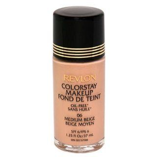 Revlon ColorStay Oil Free Makeup SPF 6, Medium Beige   1