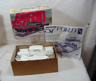 VINTAGE TOY CAR PROMO MODEL KIT SCALE 1957 FORD SHIFTY SEVEN 57