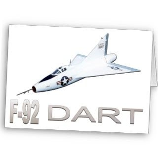 106 Delta Dart Fighter Jet Aircraft Stamp