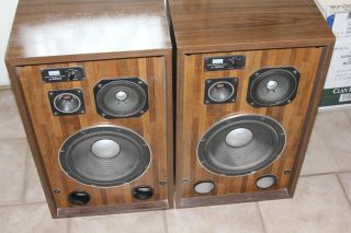 Sansui SP X6000 Vintage Home Speakers