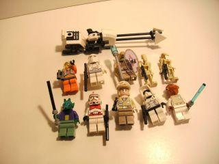 10 Lego Star Wars Minifig Figs Mini Figures Lot SW20
