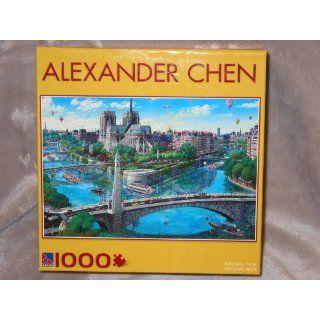 Alexander Chen Puzzle   Notre Dame , France (1000 Piece