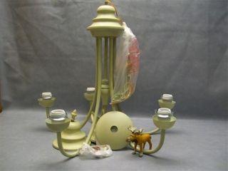 8906 H0 GS Trans Globe Lighting 5 Light Chandelier Bone