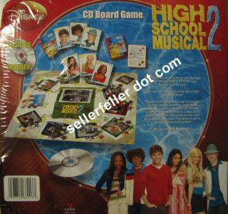 Disney HIGH SCHOOL MUSICAL 2   CD Board GAME + MUSIC CD