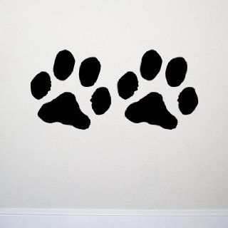 PAW PRINTS 12x12 Wall Room Decal Sticker Pets Dogs Cats