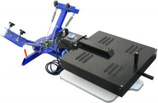 Station Silk Screen Printing Machine Press Equipment Flash Dryer DIY