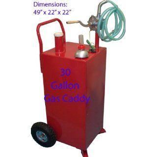 30 Gallon Gas Tank Caddy Gasoline Fluid Diesel Pump Patio