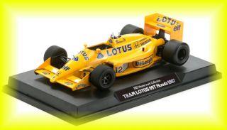 Ayrton Senna F1 Honda FORMULA1 Racing 1987 Car 99T Tamiya Legend New